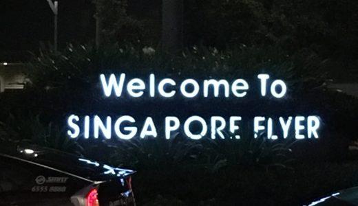 シンガポールフライヤーの料金、ディナー、お土産を普通にまとめてみた